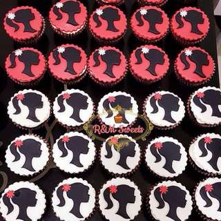 Customize cupcakes