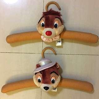 Authentic Disney Chip & Dale Cushion Hanger Set