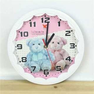 Teddy Bear Wall Clock 🕦 💕😍