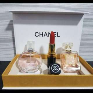 Chanel 3in1 Gift Set