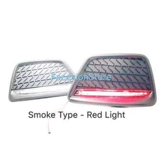 AXIA Rear Reflector Light (Smoke/Red)