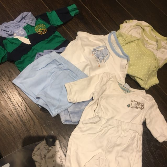 0-3m outfits 7pack