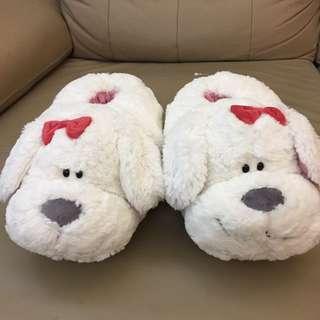 狗型毛毛鞋