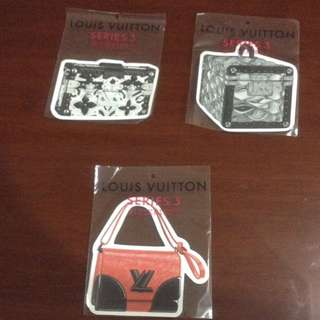 Louis Vuitton Series 3 Limited Edition Stickers (Brand New With Wrapper)