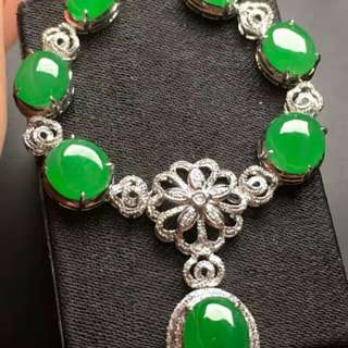 翡翠Necklace18KJade
