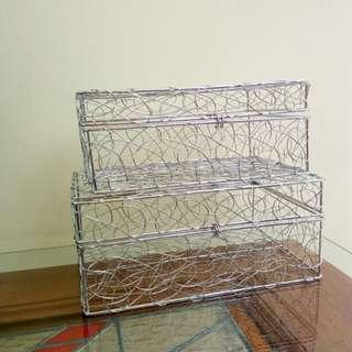 Decor Wire Basket Box