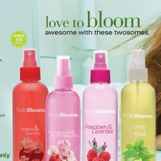 Fruity Blooms Body Mists