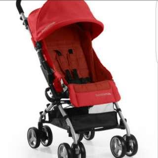 Bumbleride Flite Stroller - Cayenne Red