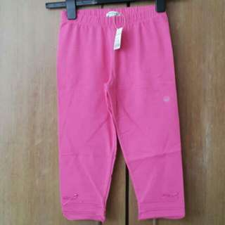 Size 130 Bossini Cotton Pants For Girls Brand New With Tag