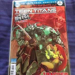 Teen Titans #12 2nd Print