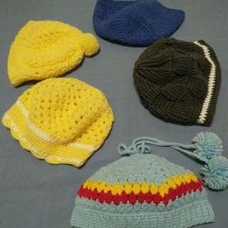 bonets crochet handmade