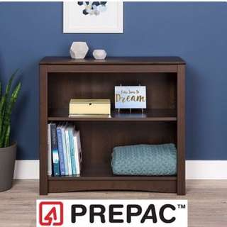 Brand New Prepac Sonoma 2-Shelf Bookcase, 29-Inch