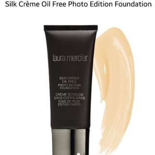 laura mercier photo foundation in ivory and cream ivory