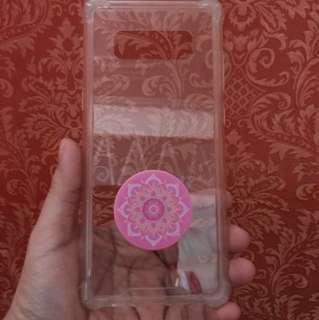 SAMSUNG Note 8 transparent shockproof case