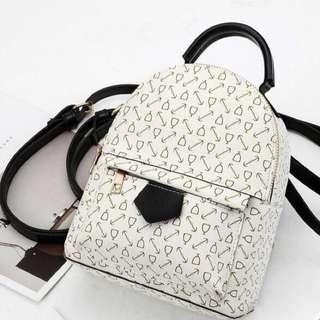 New Korean sling bag ( white )