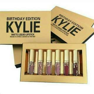 Kylie Lip Cream Birthday Edition 6in1