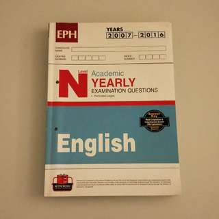 N level English Assessment