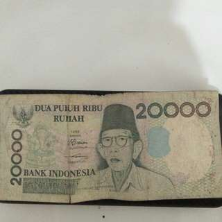 Rp.20.000 Dua Puluh Ribu Rupiah tahun 1998