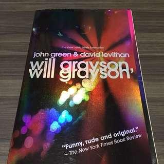 Will Grayson Will Grayson By John Green