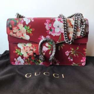 Gucci Dionysus Blooms Red Leather