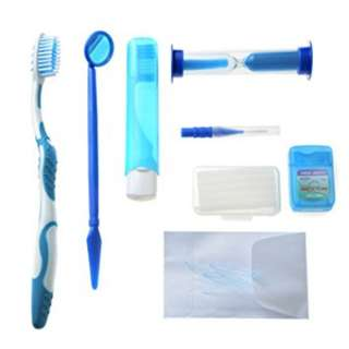 Ortho kit dental kita 8 in 1 paket sikat behel