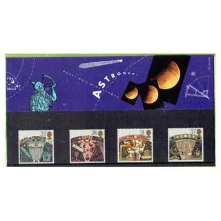 British Mint Stamps - Astronomy