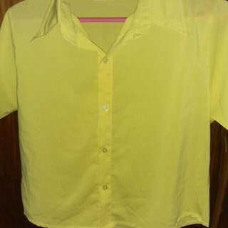 Yellow Blouse / Top
