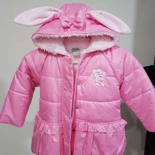 🚚 奇哥 舖毛粉紅色外套