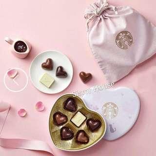 🆕🇰🇷Starbucks Korea Valentine's Day Chocolate 星巴克韓國情人節朱古力