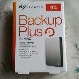 For Mac Seagate Backup Plus 4TB