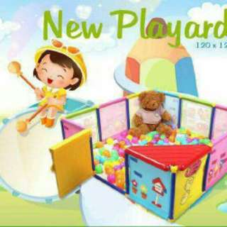 [READYSTOCK!!]NEW SAFETY PLAYARD (12 PANEL)