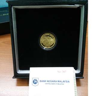 Commemorative gold proof coin