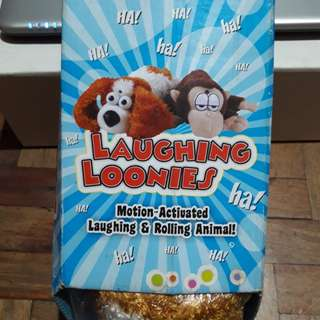 Laughing Loonies Toy Dog