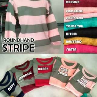 Roundhand Stripe