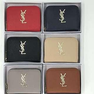 Ysl small wallet sale