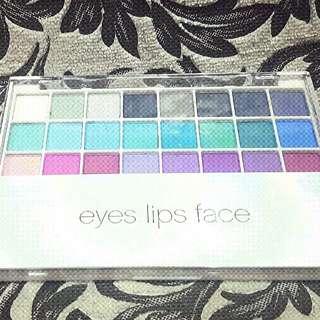 ELF cool eyeshadow palette and eyelash curler bundle