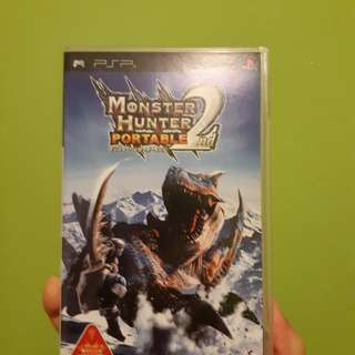PSP monster Hunter 2