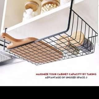 Undershelf wire tray / basket