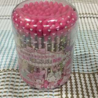 Sanrio cotton buds
