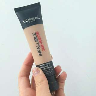 Loreal infallible 24hr matte foundation