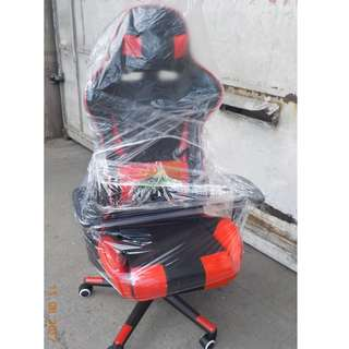 KHOMI--GAMING CHAIRS RED and BLACK