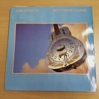 Dire Straits Brothers In Arms Vinyl LP Original Pressing Rare