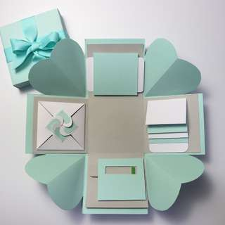 Mint Explosion Gift Box