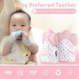 Baby Mitten Teether