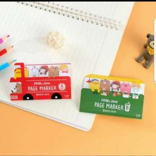 (Buy 5 get 1 free) Gracebell Bus Post it Note