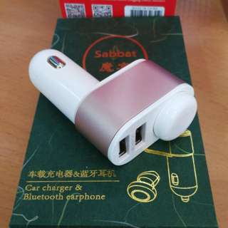 Car charger & Bluetooth