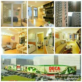 Rfo,  Fully furnished condo,  only P10k to move in