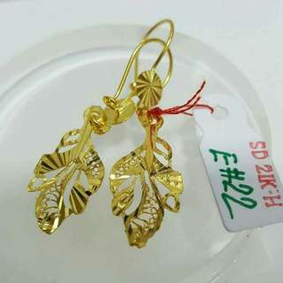 21k Saudi gold Earings