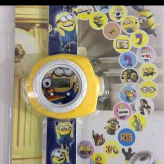 Goody bag - minions projector watch
