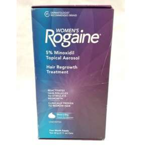 Women's Rogaine Treatment for Hair Loss & Hair Thinning Once-A-Day Minoxidil Foam, Two Month Supply